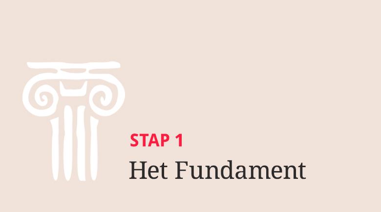 Stap 1: Het Fundament