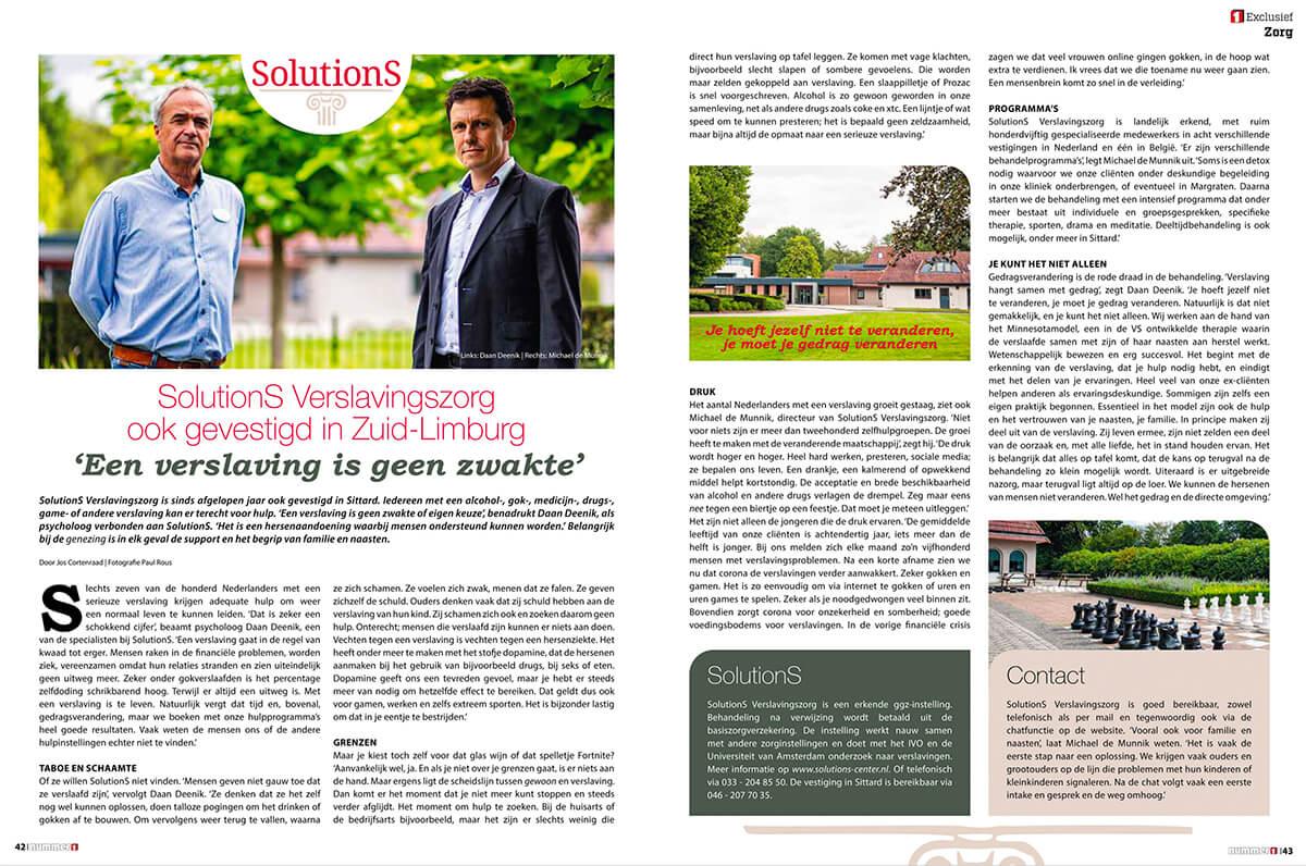 SolutionS Sittard in Limburg Nummer 1